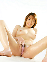 Perfect asian angel showing off her delicious naked body