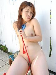 Pretty brown haired japanese whore Nana Takesita
