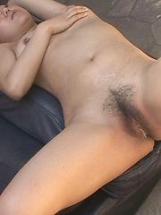 Japanese babe cum shower
