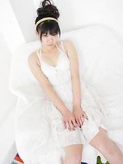 Young asian girl Rika Kisaragi