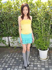 Cute japanese teen girl Emi Konishi