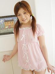 Cute japanese teen Miho Kawai