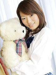 Cute japanese girl Ayumi Segara