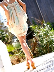 Tina Yuzuki cute Asian teen model shows off lingerie
