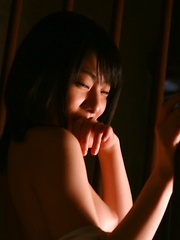 Alone asian girl erotic session