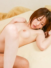Narumi Ayase has asshole fucked with tongue and gets doggy style