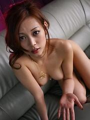 Asian babe Miho Maejimi gets a very nice gangbang