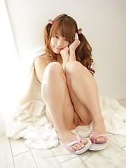 Very hot asian redhead Saeko Takamura