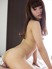 Sexy brown-haired japanese girl Itou Mayu