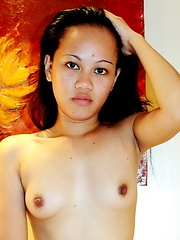Jane is a young and shy salesgirl posing nude for the very first time