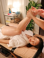 Erotic massage for japanese woman