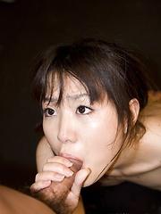 Karin Kimishima blowjob and toy fuck scene
