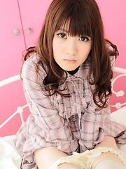 Airi Hayasaka sexy maid
