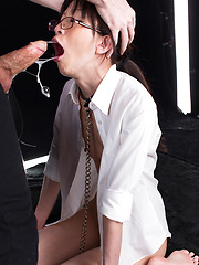 Deeply fucked in the mouth