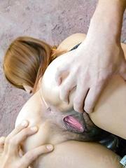 Yuika Akimoto Asian is fingered, sucks dicks and is well screwed