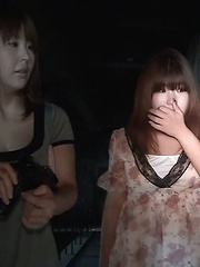 Peeing Lesbians Strap-On A Show
