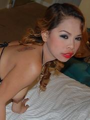 Wild Filipina with insanely hot boobs fucked on camera