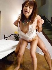Maika Asian has hot box fingered and screwed while she screams