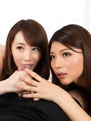 Kisaki Aya and Ishihara Misato