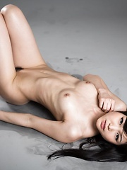 Sexy oiled japanese babe Shino Aoi