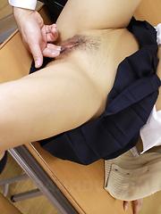 Cute Maki Kawano sucks a very nice pecker