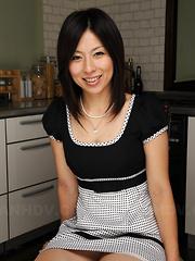 Japanese slut Himeki Kaede shows her tits